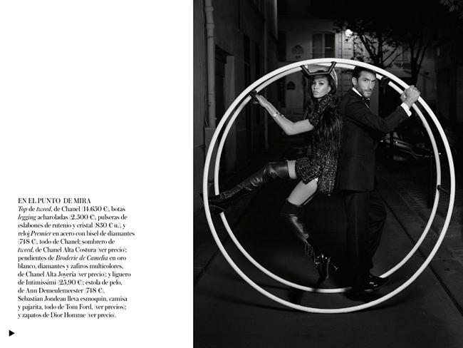 VOGUE SPAIN- Joan Smalls in Midnight in Paris by Karl Lagerfeld. Belen Antolin, December 2013, www.imageamplified.com, Image Amplified (8)