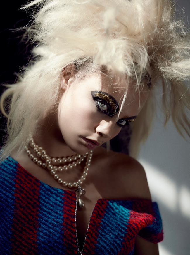 I-D MAGAZINE- Cara Delevigne in Turn The Lights Off & Let's Play by Richard Bush. Sarah Richardson, Fall 2013, www.imageamplified.com, Image Amplified (1)
