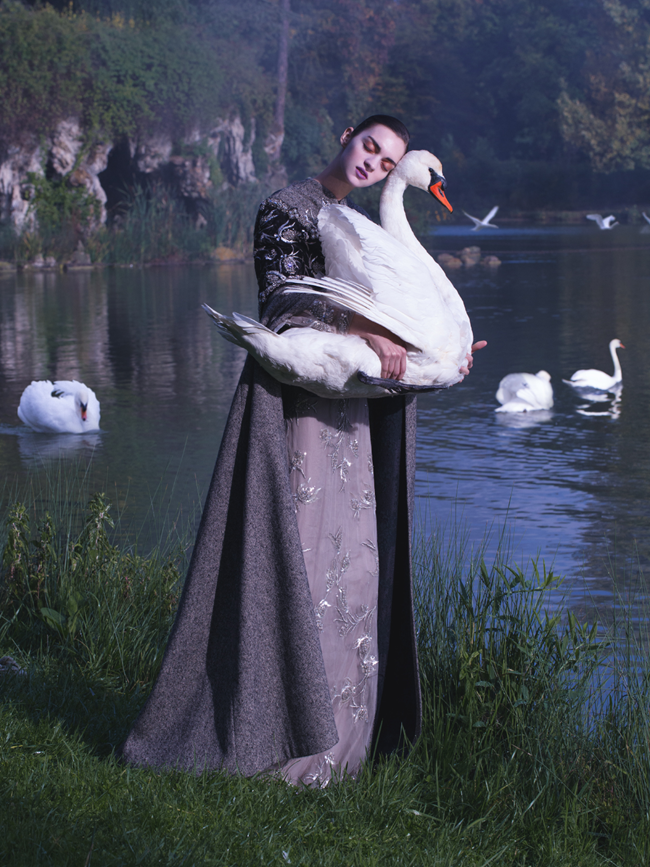 HARPER'S BAZAAR CHINA- Magda Laguinge in Couture Adventure by Jumbo Tsui. Shuo Yuan Hasegawa, December 2013, www.imageamplified.com, Image Amplified (1)