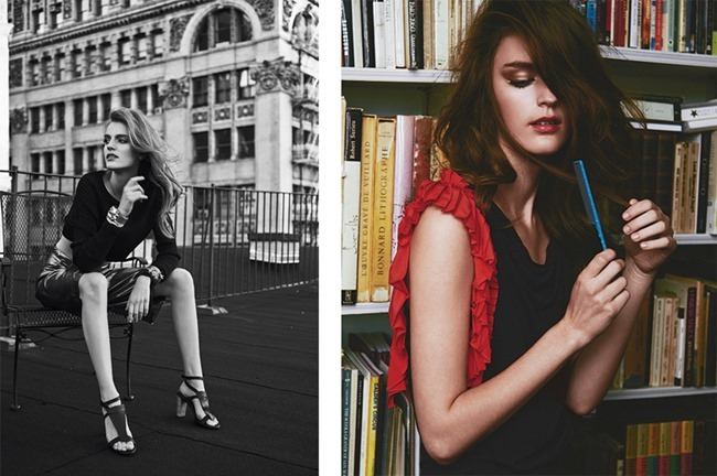 HARPER'S BAZAAR MEXICO- Laura Kampman by Hans Neumann. Mary Fellowes, Fall 2013, www.imageamplified.com, image Amplified (3)
