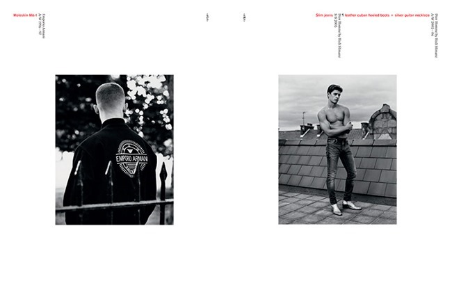 ARENA HOMME - Together That Summer We Raised Some Hell Yeah! by Alasdair McLellan. Max Pearmain, Fall 2013, www.imageamplified.com, Image Amplified (3)