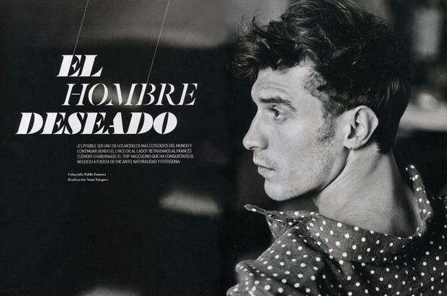 ICON MAGAZINE- Clement chabernaud in El Hombre Deseado by Pablo Zamora, Nono Vazquez, Fall 2013, www.imageamplified.com, Image amplified