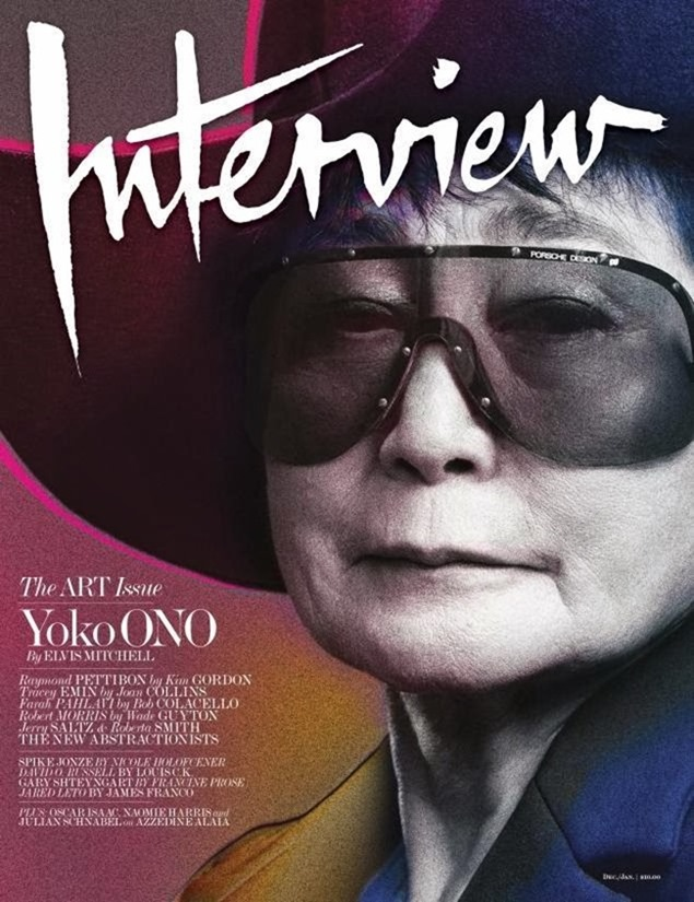 INTERVIEW MAGAZINE- Yoko Ono by Craig McDean. January 2014, www.imageamplified.com, Image amplified (5)