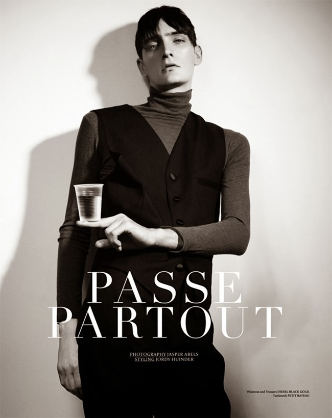 PRESTAGE MAGAZINE- Yannick Abrath in Passe Partout by Jasper Abels. Jordy Huinder, Fall 2013, www.imageamplified.com, Image Amplified