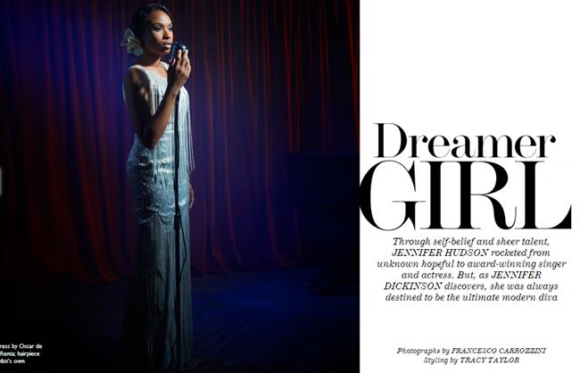 THE EDIT MAGAZINE- jennifer Hudson in Dreamer Girl by Francesco Carrozzini. November 2013, www.imageamplified.com, Image Amplified