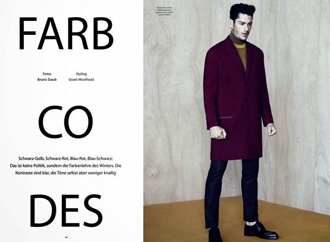 GQ STYLE GERMANY- Tyson Ballou in Farbcodes by Bruno Staub. Grant Woolhead, Fall 2013, www.imageamplified.com, Image Amplified