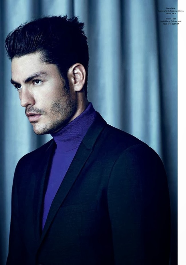 GQ STYLE GERMANY- Tyson Ballou in Farbcodes by Bruno Staub. Grant Woolhead, Fall 2013, www.imageamplified.com, Image Amplified (5)