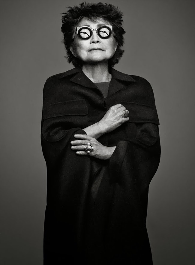 INTERVIEW MAGAZINE- Yoko Ono by Craig McDean. January 2014, www.imageamplified.com, Image amplified