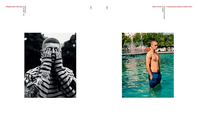 ARENA HOMME - Together That Summer We Raised Some Hell Yeah! by Alasdair McLellan. Max Pearmain, Fall 2013, www.imageamplified.com, Image Amplified (2)