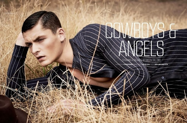 AUGUST MAN MAGAZINE- Jace Moody in Cowboys & Angels by Florian Renner. Bodo Ernle, November 2013, www.imageamplified.com, Image Amplified