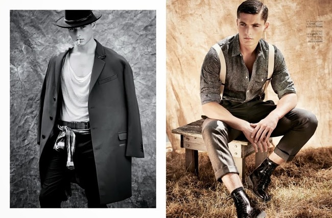 AUGUST MAN MAGAZINE- Jace Moody in Cowboys & Angels by Florian Renner. Bodo Ernle, November 2013, www.imageamplified.com, Image Amplified (1)