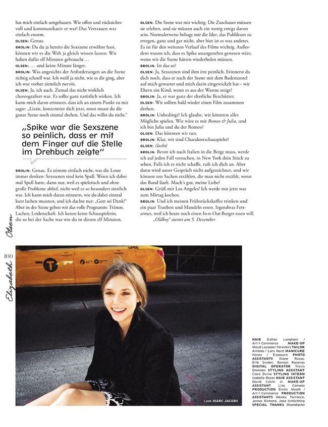 INTERVIEW GERMANY- Elizabeth Olsen in Oh, Olsen by Cass Bird. Julia von Boehm, January 2014, www.imageamplified.com, image amplified (8)