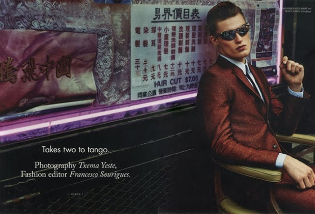 HERCULES MAGAZINE- Harry Pulley in Takes two to tango by Txema Yeste. Fall 2013, www.imageamplified.com, Image amplified