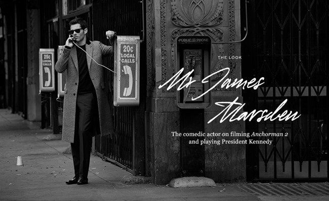 CAMPAIGN- James Marsden for Mr Porter 2013 by Blair Getz Mezibov. www.imageamplified.com, Image Amplified