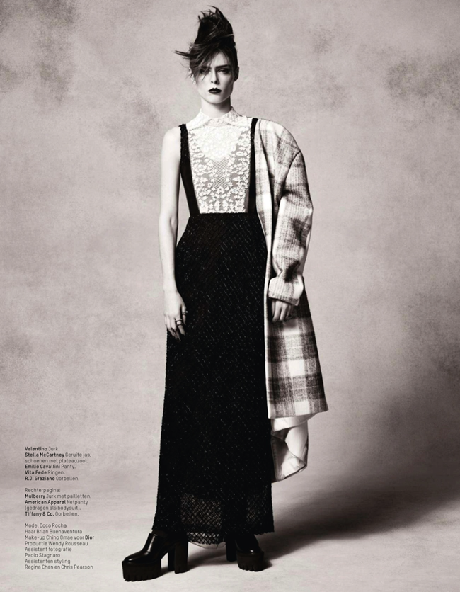 L'OFFICIEL NEATHERLANDS- Coco Rocha by Jonas Bresnan. Michelle Cameron, December 2013, www.imageamplified.com, Image amplified (16)