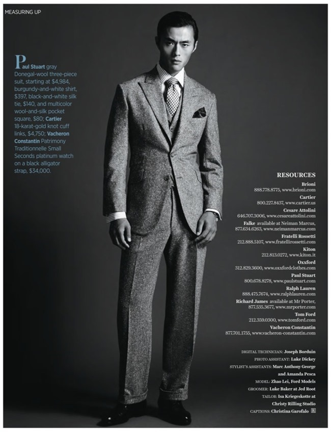 ROBB REPORT- Zhao Lei in Measuring Up by Blair Getz Mezibov. Christopher Campbell, Fall 2013, www.imgaeamplified.com, Image Amplified (4)
