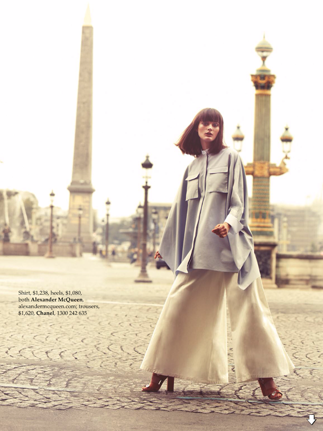ELLE AUSTRALIA- Sibui Nazarenko in Paris Je T'aime by Stefania Paparelli. Nicole Bonython-Hines, December 2013, www.imageamplified.com, Image amplified (3)