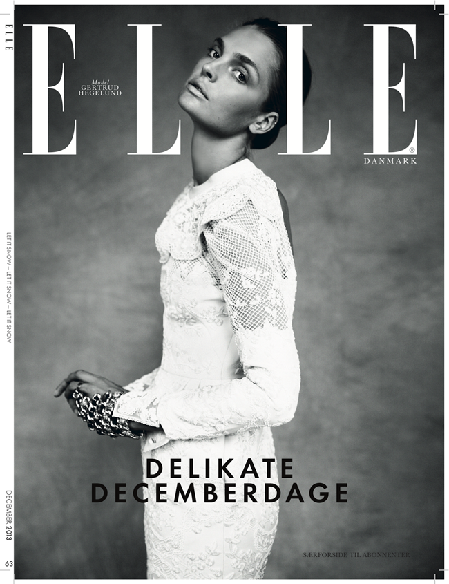 ELLE DENMARK- Gertrud Hegelund in Cold As Ice by Oliver Stalmans. Anna Katsanis, December 2013, www.imageamplified.com, IMage Amplified