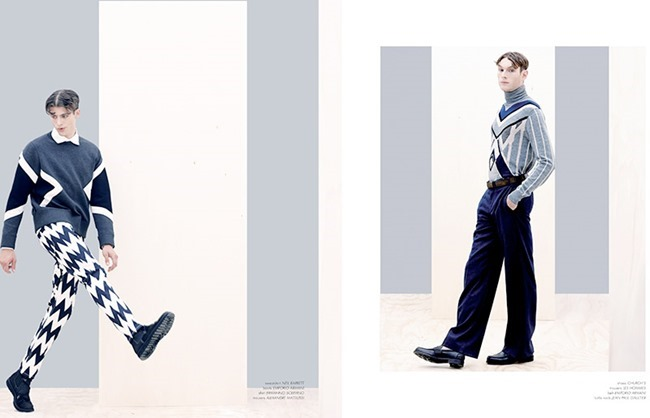 ODDA MAGAZINE- Ben Allen, Aiden Andrews & Jamie Wise by Aline & Jacqueline Tappia. Alba Melendo, Fall 2013, www.imageamplified.com, Image Amplified (2)