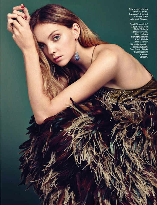 GLAMOUR ITALIA- Heather Marks in Once Upon A Time by Hong Jang Hyun. Simone Guidarelli, December 2013, www.imageamplified.com, Image amplified (10)