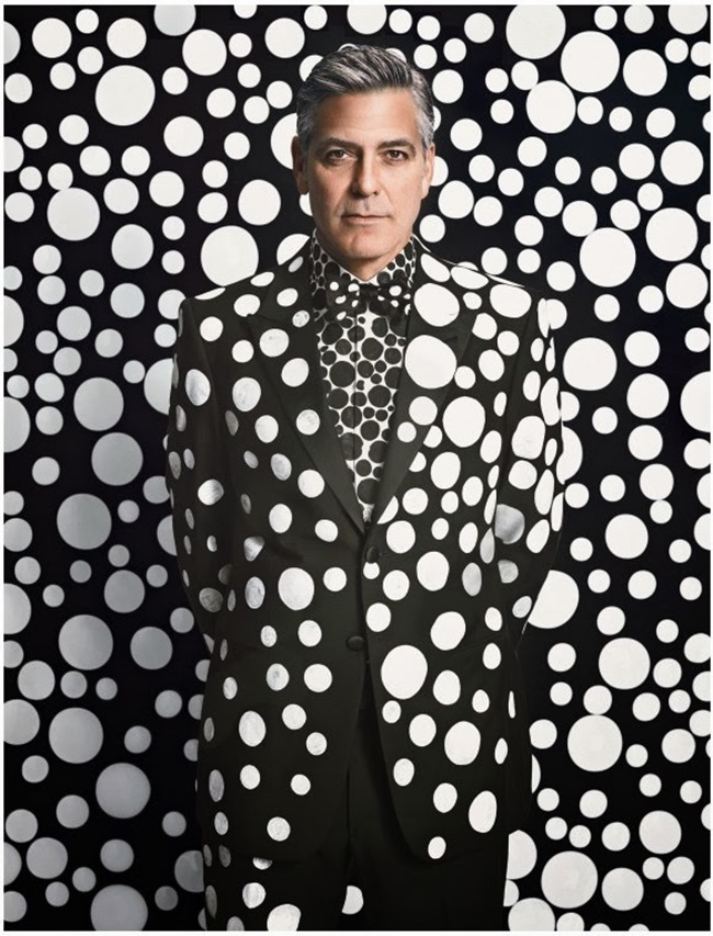 W MAGAZINE- George Clooney by Emma Summerton. January 2014, www.imageamplified.com, Image Amplified