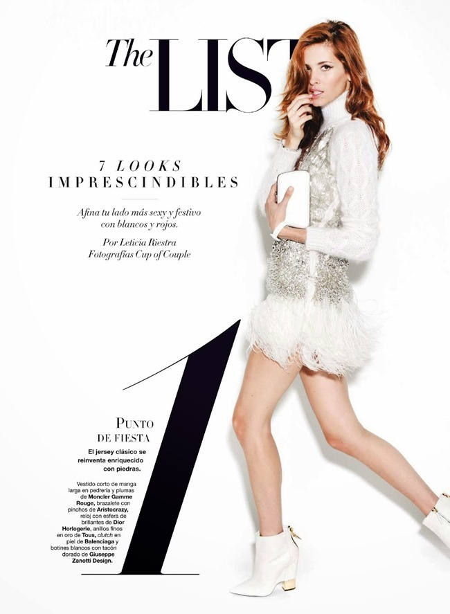 HARPER'S BAZAAR SPAIN- Lourdes Coteron by Cup of Couple. Fall 2013, www.imageamplified.com, Image Amplified