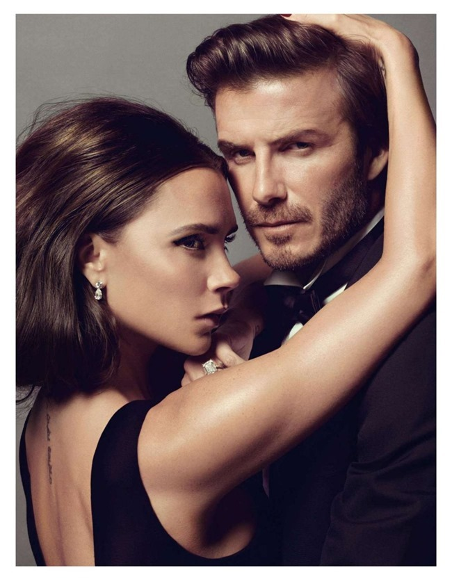VOGUE PARIS- Victoria Beckham & David Beckham in Love Story by Inez & Vinoodh. Emmanuelle Alt, December 2013, www.imageamplified.com, Image Amplified