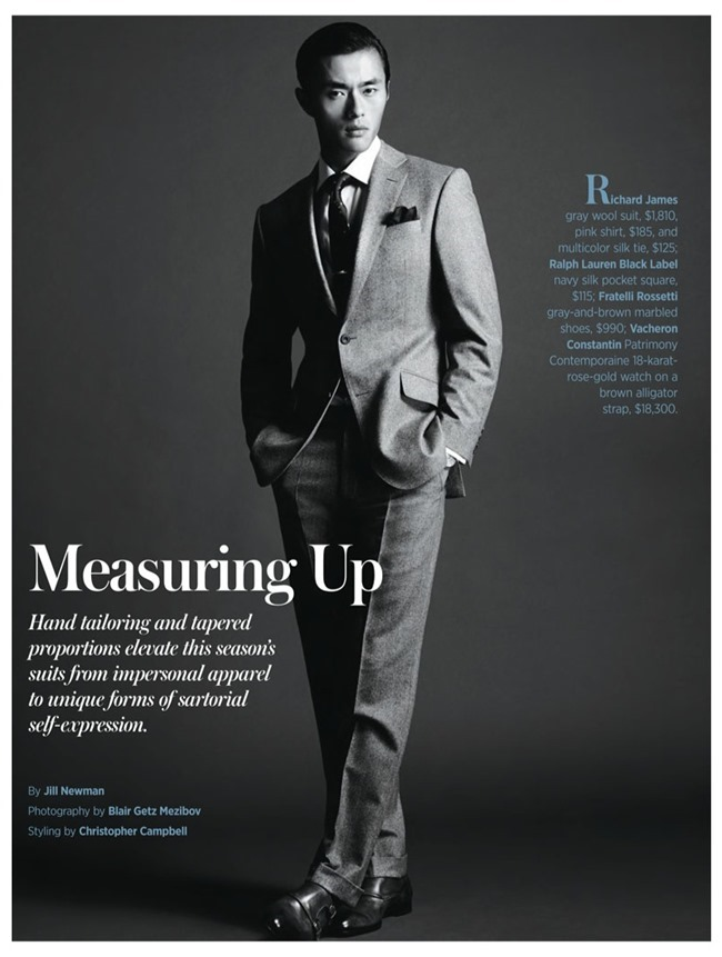 ROBB REPORT- Zhao Lei in Measuring Up by Blair Getz Mezibov. Christopher Campbell, Fall 2013, www.imgaeamplified.com, Image Amplified (2)