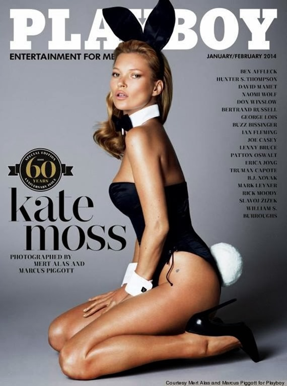 PLAYBOY MAGAZINE- Kate Moss in The Immaculate Kate Moss by Mert & Marcus. Alex White, January 2014, www.imageamplified.com, Image Amplified (4)