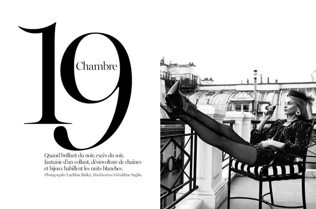 VOGUE PARIS- Anna Selezneva in Chambre 19 by Lachlan Bailey. Geraldine Saglio, Janaury 2014, www.imageamplified.com, Image Amplified