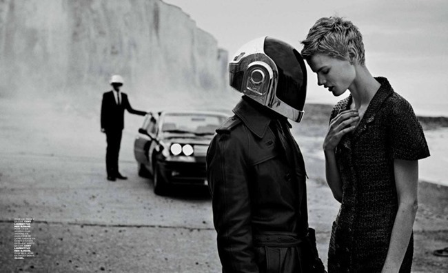M LE MONDE- Saskia De Brauw & Daft Punk by Peter Lindbergh, Fall 2013, www.imageamplified.com, Image Amplified (6)