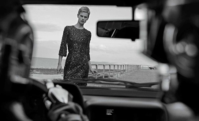M LE MONDE- Saskia De Brauw & Daft Punk by Peter Lindbergh, Fall 2013, www.imageamplified.com, Image Amplified (3)