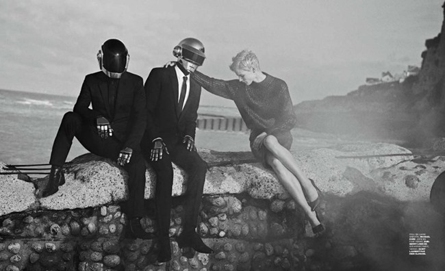 M LE MONDE- Saskia De Brauw & Daft Punk by Peter Lindbergh, Fall 2013, www.imageamplified.com, Image Amplified (5)