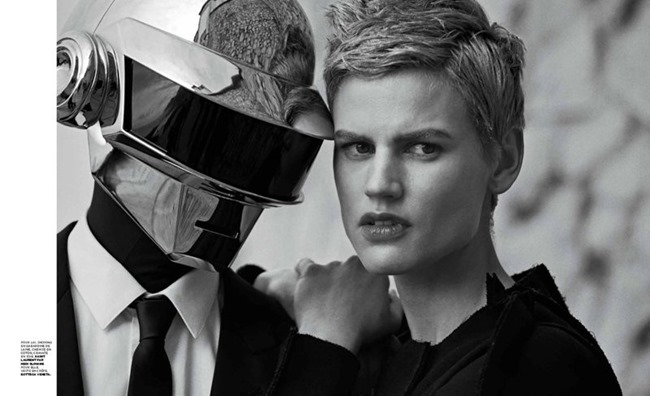 M LE MONDE- Saskia De Brauw & Daft Punk by Peter Lindbergh, Fall 2013, www.imageamplified.com, Image Amplified (4)