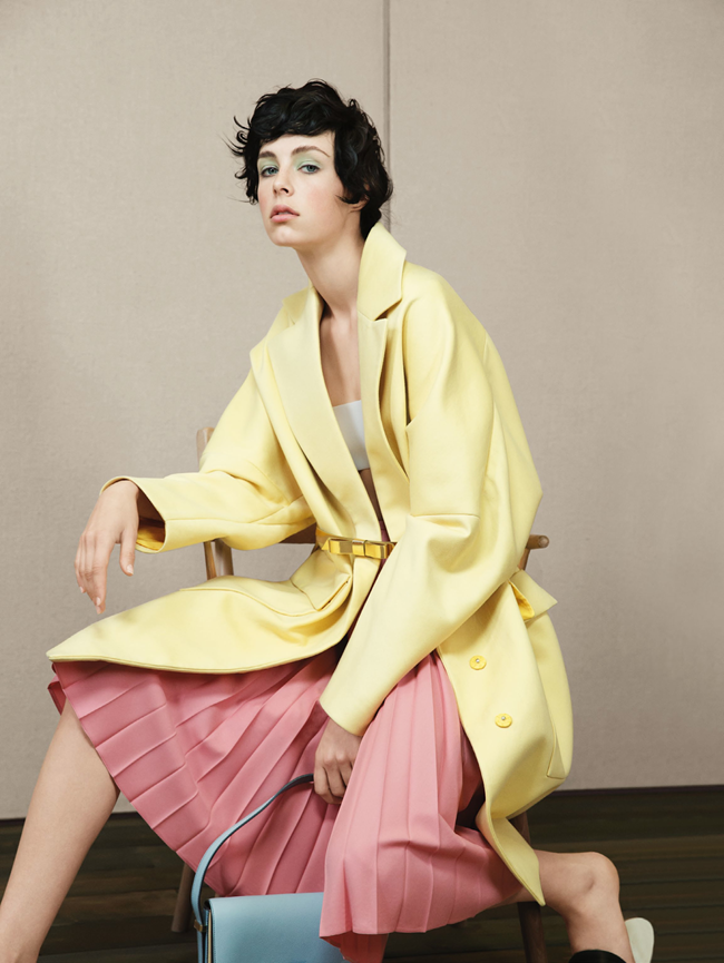 VOGUE UK- Edie Campbell in Sunny Side Up by Patrick Demarchelier. Lucinda Chambers, January 2014, www.imageamplified.com, Image Amplified (4)