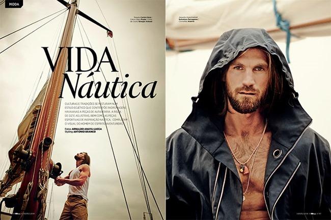 GQ STYLE BRAZIL- Henrik Fallenius in Vida Nautica by Arnaldo Anaya-Lucca. Antonio Branco, Fall 2013, www.imageamplified.com, Image Amplified
