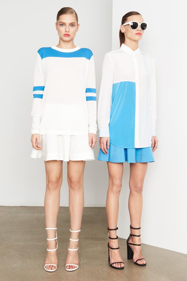 COLLECTION- MIla Krasnoiarova & Svetlana Zakharova for DKNY Pre-Fall 2014. www.imageamplified.com, Image Amplified (14)
