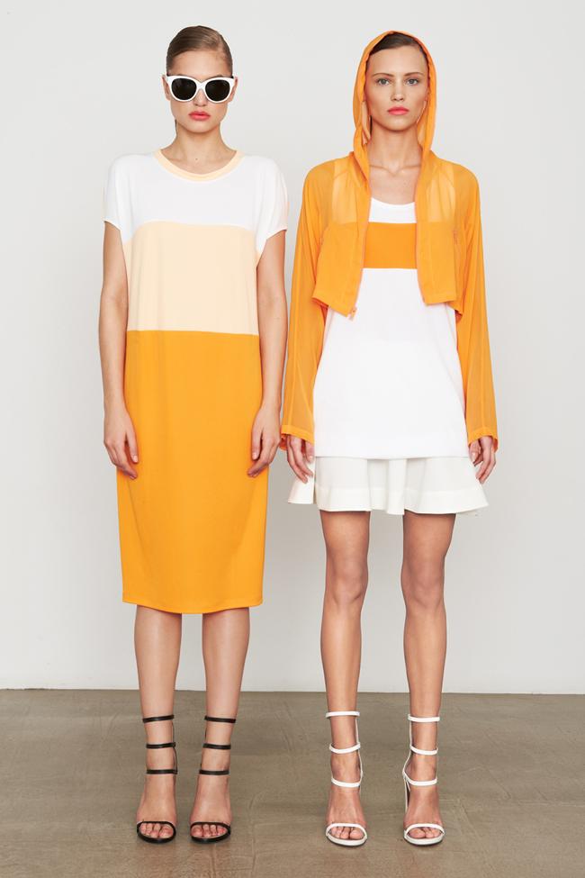 COLLECTION- MIla Krasnoiarova & Svetlana Zakharova for DKNY Pre-Fall 2014. www.imageamplified.com, Image Amplified (15)