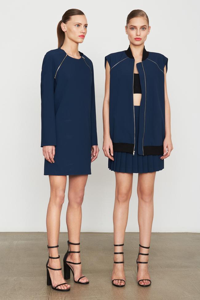 COLLECTION- MIla Krasnoiarova & Svetlana Zakharova for DKNY Pre-Fall 2014. www.imageamplified.com, Image Amplified (16)