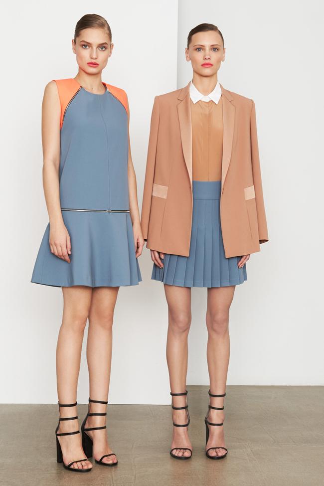 COLLECTION- MIla Krasnoiarova & Svetlana Zakharova for DKNY Pre-Fall 2014. www.imageamplified.com, Image Amplified (17)