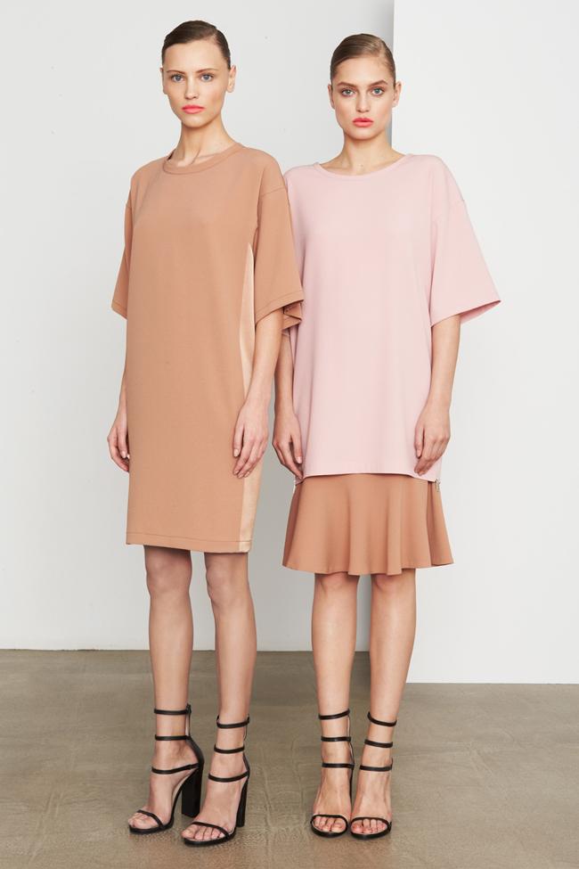 COLLECTION- MIla Krasnoiarova & Svetlana Zakharova for DKNY Pre-Fall 2014. www.imageamplified.com, Image Amplified (19)