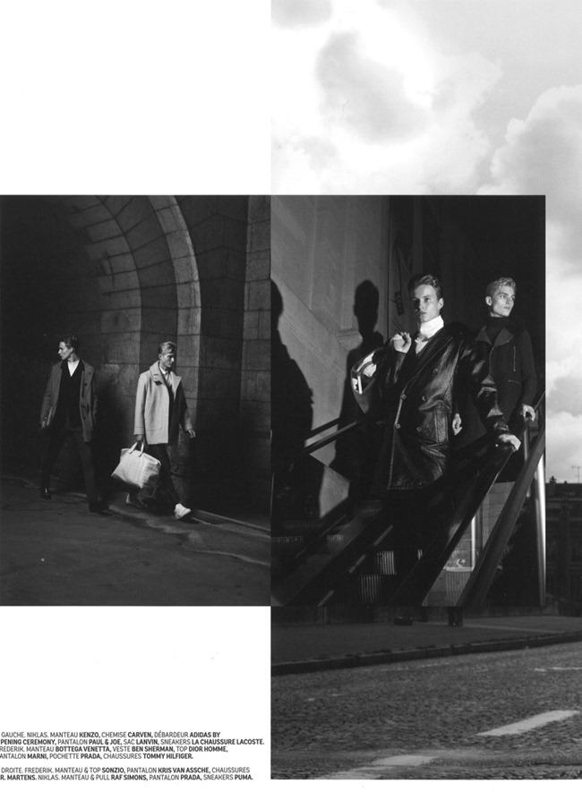 DEDICATE MAGAZINE- Frederik Ruegger & Nicklas Kingo in When in Paris by Yann Morrison. James V., www.imageamplified.com, Image Amplified (11)