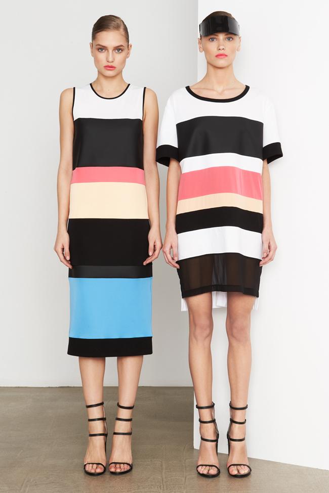 COLLECTION- MIla Krasnoiarova & Svetlana Zakharova for DKNY Pre-Fall 2014. www.imageamplified.com, Image Amplified (11)