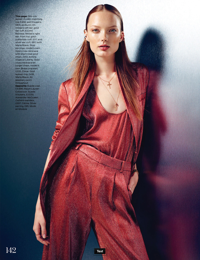 ELLE UK- Naty Chabanenko in The Big Easy by Kal Griffig. Michelle Duguid, January 2014, www.imageamplified.com, Image Amplified