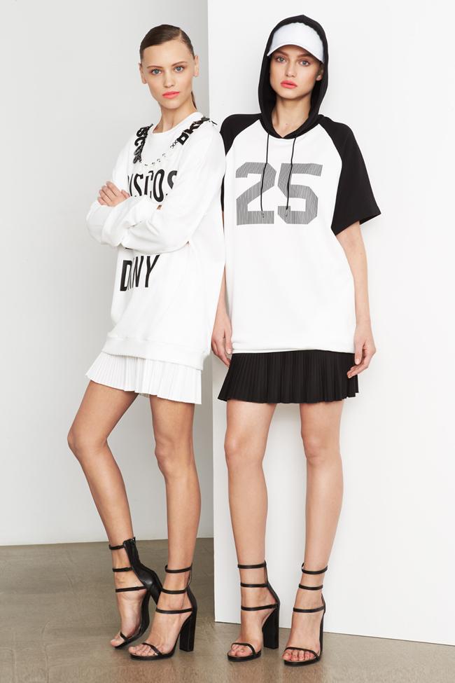 COLLECTION- MIla Krasnoiarova & Svetlana Zakharova for DKNY Pre-Fall 2014. www.imageamplified.com, Image Amplified (2)