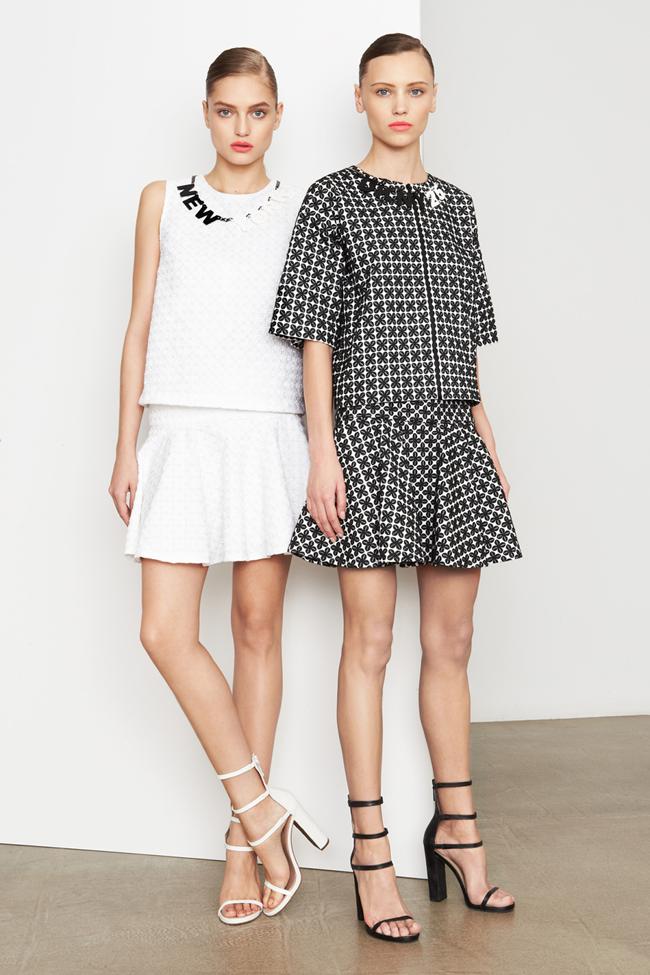 COLLECTION- MIla Krasnoiarova & Svetlana Zakharova for DKNY Pre-Fall 2014. www.imageamplified.com, Image Amplified (3)