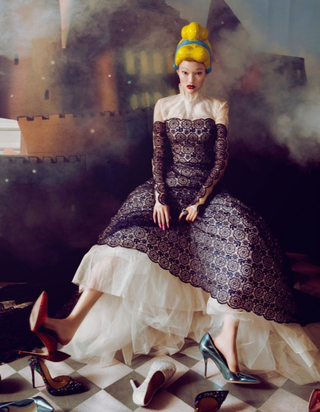 HARPER'S BAZAAR CHINA- Yan Xu in Dream of the Dress by Shxpir. Wang Ying, Fall 2013, www.imageamplified.com, Image amplified (1)