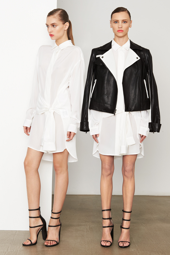 COLLECTION- MIla Krasnoiarova & Svetlana Zakharova for DKNY Pre-Fall 2014. www.imageamplified .com, Image Amplified (8)