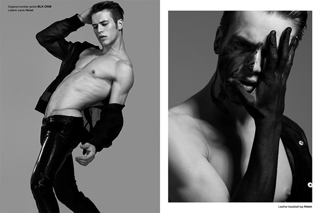 FUCKING YOUNG! ONLINE- Jules Raynal & Andreas H in Black Passion by Raphael Delorme & Thierno Sy. Ayako Ijima, Fall 2013, www.imageamplified.com, Image Amplified (9)