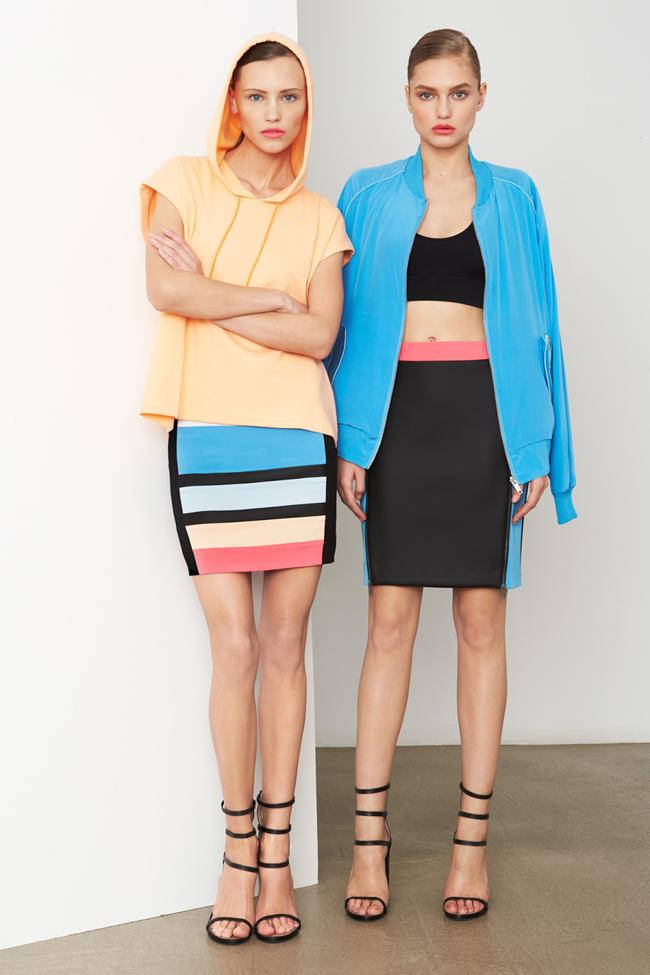 COLLECTION- MIla Krasnoiarova & Svetlana Zakharova for DKNY Pre-Fall 2014. www.imageamplified.com, Image Amplified (13)